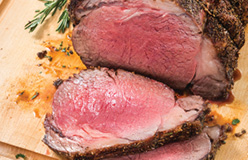 Prime Rib with Cabernet Jus